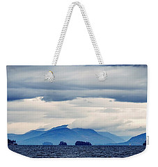 Weekender Tote Bag featuring the photograph Lake George Is The Queen Of American Lakes by Kendall McKernon