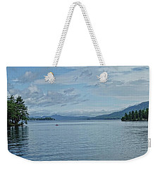 Lake George Kayaker Weekender Tote Bag