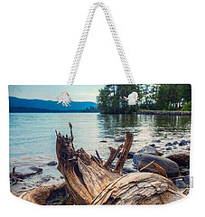 Weekender Tote Bag featuring the photograph Lake George Palette by Kendall McKernon