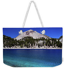Weekender Tote Bag featuring the photograph Lake Helen Mount Lassen 2 by Frank Wilson