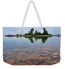 Lake Huron Island Weekender Tote Bag