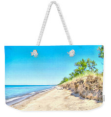 Lake Huron Shoreline Weekender Tote Bag by Maciek Froncisz