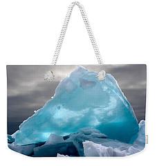 Lake Ice Berg Weekender Tote Bag