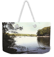 Lake At Burke Va Park Weekender Tote Bag