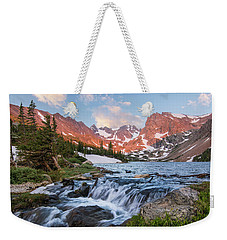 Lake Isabelle Sunrise Weekender Tote Bag