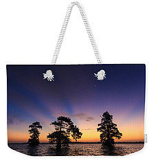 Lake Istokpoga Sunrise Weekender Tote Bag