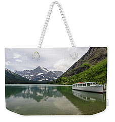 Weekender Tote Bag featuring the photograph Lake Josephine by Margaret Pitcher
