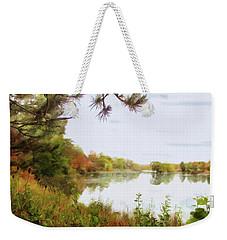 Lake Katherine In October Weekender Tote Bag