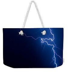 Lake Lightning Strike Weekender Tote Bag