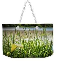 Lake Lily Weekender Tote Bag