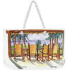 Lake Lodge Weekender Tote Bag