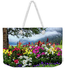Lake Louise Morning Weekender Tote Bag