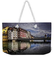 Lake Lucerne  Weekender Tote Bag by Carol Japp