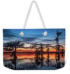Lake Martin Sunset Weekender Tote Bag