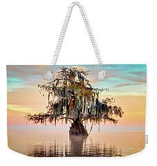 Lake Maurepas In Pastels Weekender Tote Bag