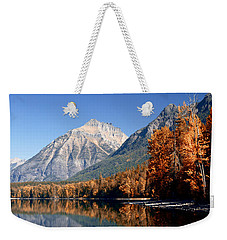 Lake Mcdonald Autumn Weekender Tote Bag