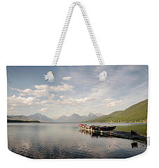 Lake Mcdonald Weekender Tote Bag