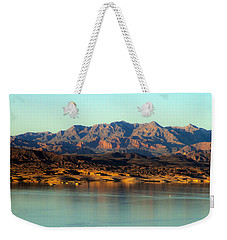 Lake Mead Before Sunset Weekender Tote Bag