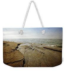 Lake Michigan And Pier Cove Creek  2.0 Weekender Tote Bag