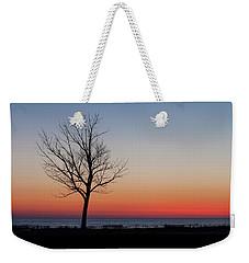 Lake Michigan Silhouette Weekender Tote Bag