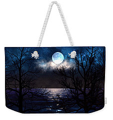 Lake Midnight Weekender Tote Bag