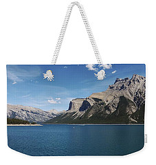 Lake Minnewanka, Alberta Weekender Tote Bag