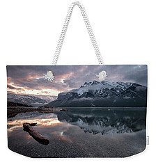Lake Minnewanka Dawn Weekender Tote Bag