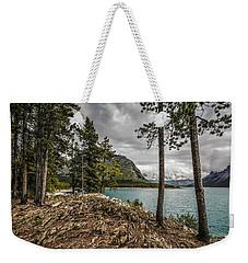 Lake Minnewanka Weekender Tote Bag