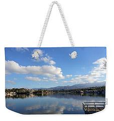 Lake Mission Viejo Cloud Reflections Weekender Tote Bag