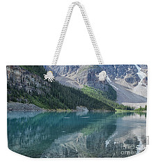 Weekender Tote Bag featuring the photograph Lake Moraine by Patricia Hofmeester