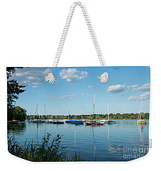 Lake Nokomis Minneapolis City Of Lakes Weekender Tote Bag
