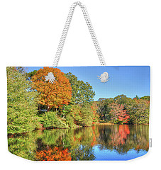 Lake Noquochoke, Dartmouth, Ma Weekender Tote Bag