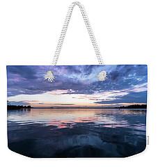 Lake Norman, North Carolina Sunset Weekender Tote Bag