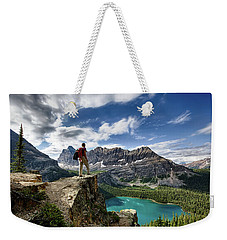Lake O'hara Adventure Weekender Tote Bag