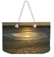 Lake On Fire Weekender Tote Bag