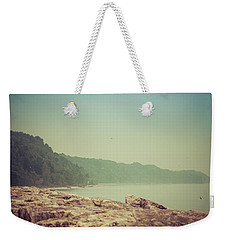 Weekender Tote Bag featuring the photograph Lake Park Port Washington by Joel Witmeyer