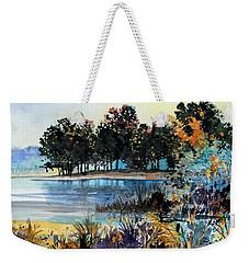 Lake Point Weekender Tote Bag