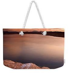 Lake Powell Dawn Weekender Tote Bag