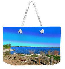 Lake Pueblo Painted Weekender Tote Bag