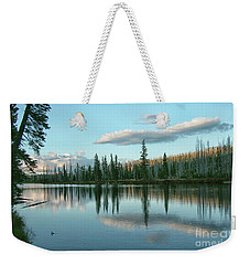 Lake Reflections Weekender Tote Bag by Myrna Bradshaw