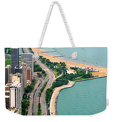 Lake Shore Dr . Chicago Weekender Tote Bag