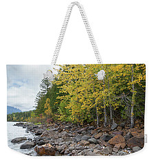 Lake Shore Weekender Tote Bag