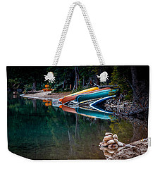 Kayaks At Rest Weekender Tote Bag