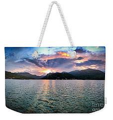 Lake Solstice Weekender Tote Bag