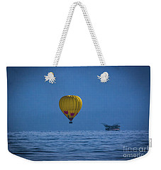 Lake Tahoe Balloon Weekender Tote Bag by Mitch Shindelbower