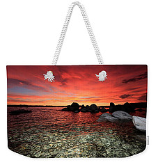 Lake Tahoe Liquid Dreams Weekender Tote Bag