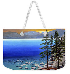Lake Tahoe Sunrise Weekender Tote Bag