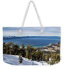 Lake Tahoe Vista Weekender Tote Bag
