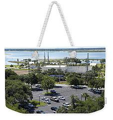 Weekender Tote Bag featuring the photograph Lake Tohopekaliga  by Chris Mercer