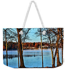 Lake Vapors Weekender Tote Bag